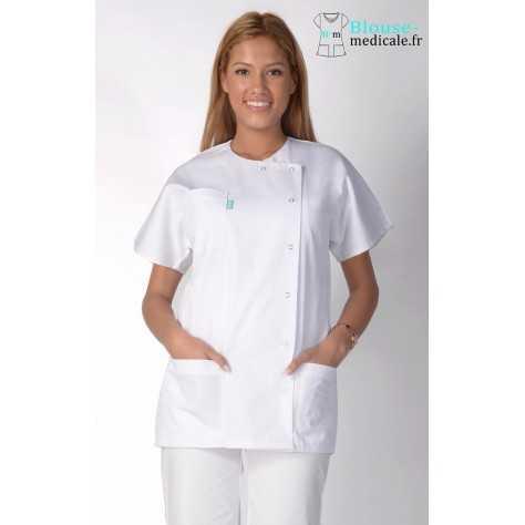 Tunique Medicale Femme Lafont Eloise Blanc