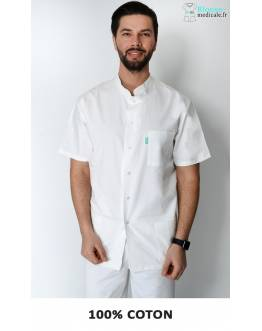 Tunique Medicale Homme Lafont Terence Blanc
