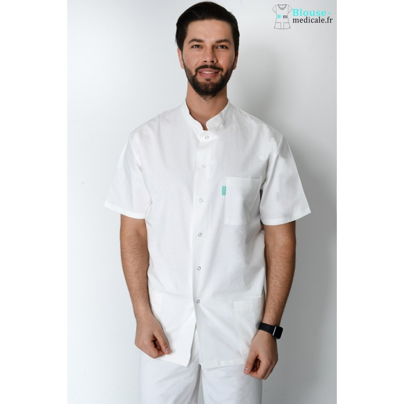tenue kin tenue dentiste tenue osteo tenue medicale homme pas cher. Black Bedroom Furniture Sets. Home Design Ideas