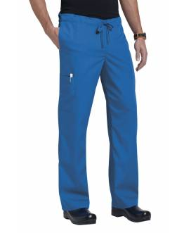Pantalon Unisexe Bleu Royal Orange G3702