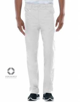 Pantalon Antimicrobien Dickies Medical Blanc 81111A