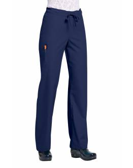 Pantalon Unisexe Bleu Marine Orange G3702