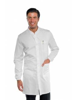 Blouse Blanche 100% Coton Manches Longues Homme Marley