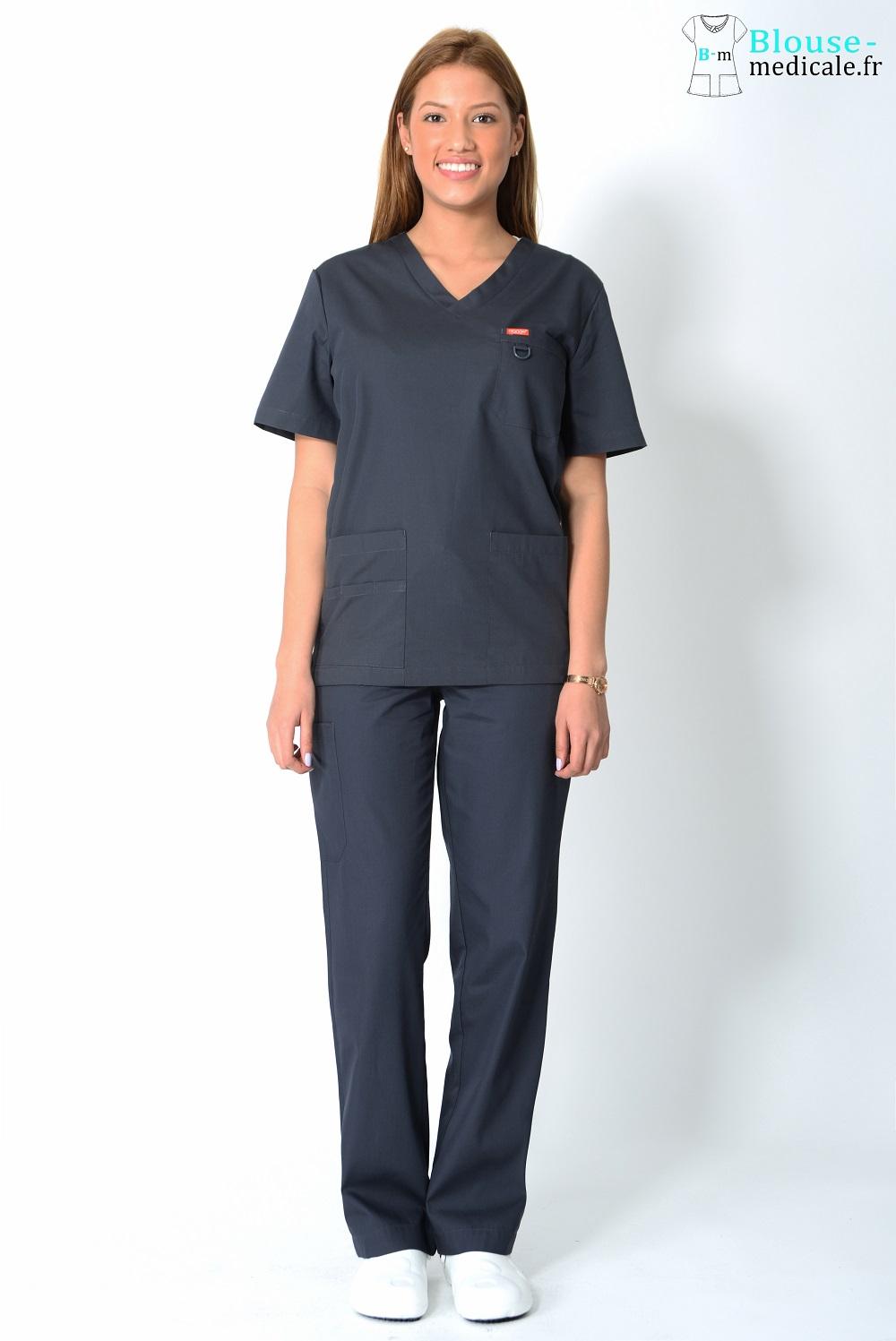 tenue médicale unisexe tenue equipe medicale kiné femme
