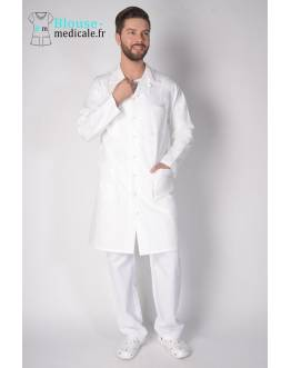 Blouse Blanche Medicale Homme Lafont Axel
