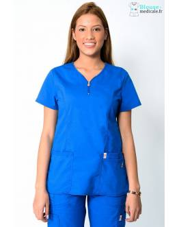 Tunique Medicale Femme Code Happy Bleu Royal 46600AB