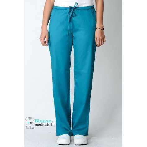 Pantalon Medical Femme Cherokee Luxe Bleu Lagon 1066