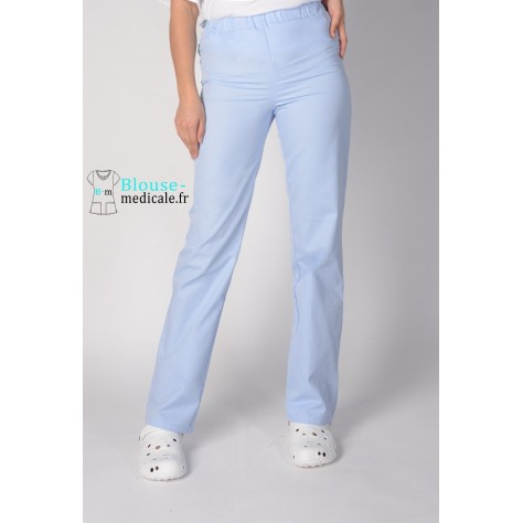 Pantalon Medical Unisexe Lafont Gael Bleu Ciel