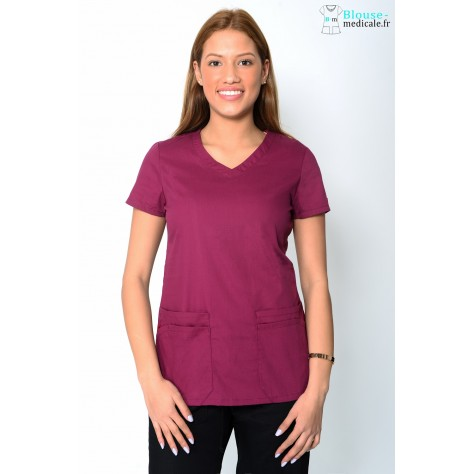 Tunique Femme Bordeaux Dickies 85906