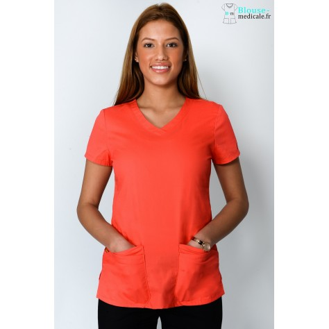 Tunique Femme Abricot Dickies 85906