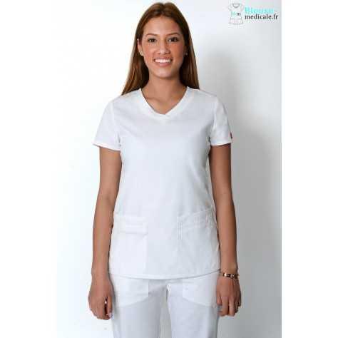 Tunique Medicale Dickies Femme Blanc 85906