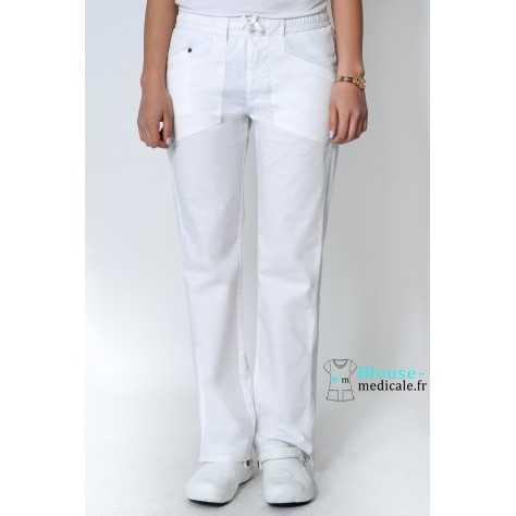 Pantalon Dickies Femme Blanc 85000