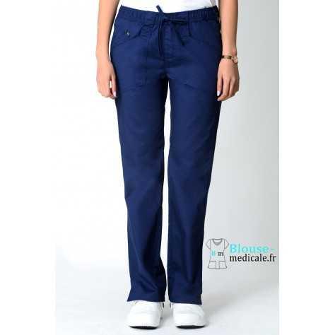 Pantalon Dickies Femme Bleu Marine 85000