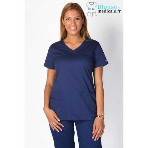 Tunique Medicale Cherokee Femme Bleu Marine 4727
