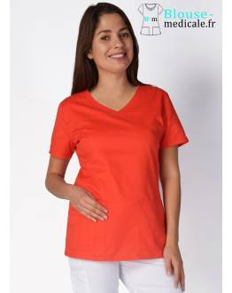 Tunique Medicale Femme Cherokee Corail 4727
