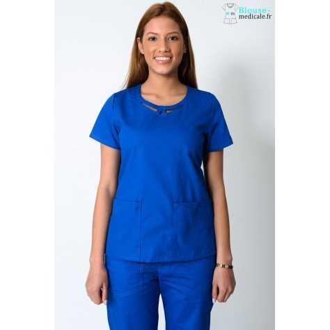 Tunique Femme Bleu Royal Dickies 85810