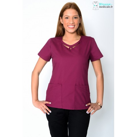Tunique Femme Bordeaux Dickies 85810