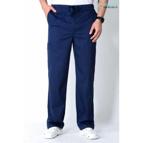 Pantalon Medical Homme Cherokee Luxe Bleu Marine 1022