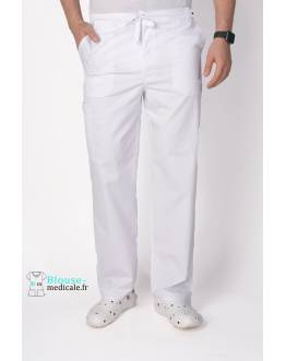 Pantalon Medical Homme Cherokee Luxe Blanc 1022