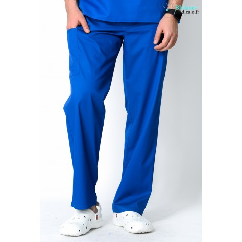 Pantalon Medical Homme Cherokee Luxe Bleu Royal 1022
