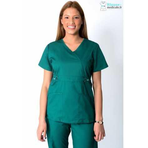 Tunique Medicale Femme Cherokee Luxe Vert 21701