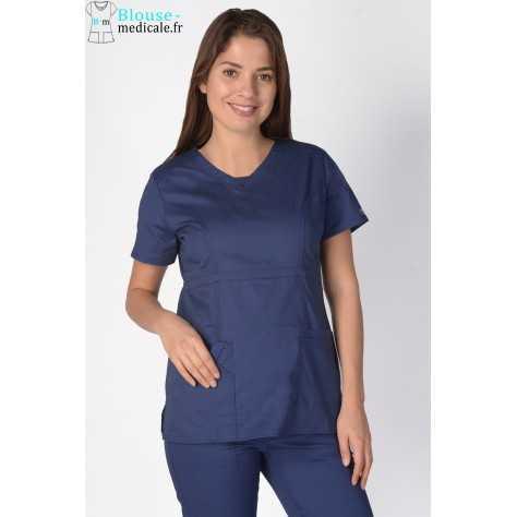 Tunique Medicale Cherokee Femme Bleu Marine 24703
