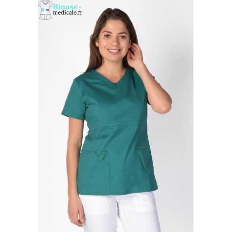 Tunique Medicale Cherokee Femme Vert 24703
