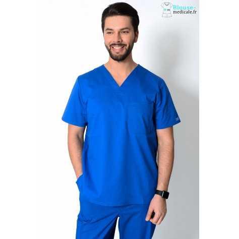 Tunique Medicale Cherokee Homme Bleu Royal 4743