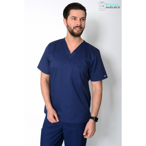Tunique Medicale Cherokee Homme Bleu Marine 4743