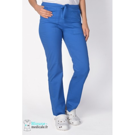 Pantalon Medical Cherokee Femme Bleu Royal 4203