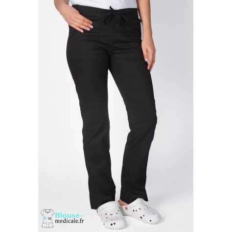 Pantalon Medical Cherokee Femme Noir 4203
