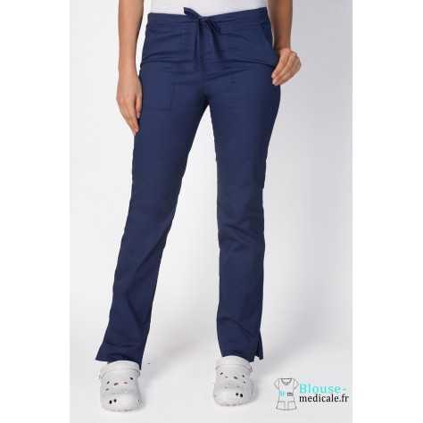 Pantalon Medical Cherokee Femme Bleu Marine 4203