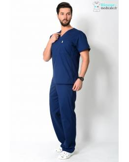 tenue medicale homme anti tache code happy
