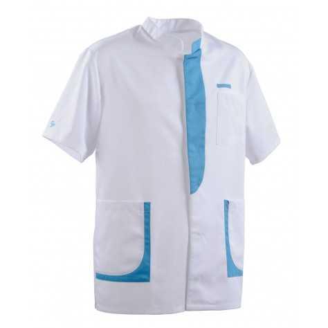 Tunique Lafont Clemix 2.0 Homme LEE Blanc Turquoise