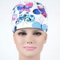 Calot Chirurgien avec imprimé papillons colorés