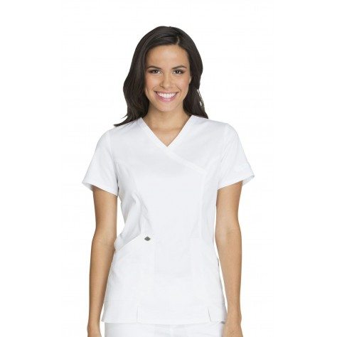 Tunique Médicale Dickies Femme DK804 Blanc