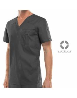 Blouse Dickies Medical Antimicrobienne Homme Gris Anthracite 81714A