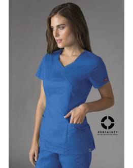 Tunique Médicale Dickies Antimicrobienne Femme Bleu Royal 85954A