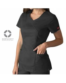 Tunique Médicale Dickies Antimicrobienne Femme Gris Anthracite 85954A