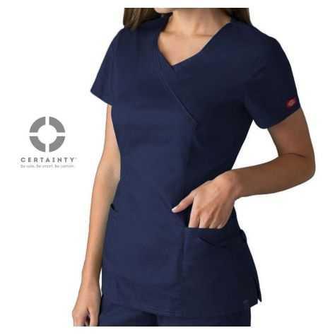 Tunique Médicale Dickies Antimicrobienne Femme Bleu Marine 85954A