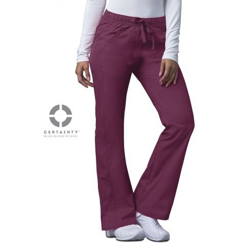 Pantalon Medical Dickies Femme Bordeaux 82212A