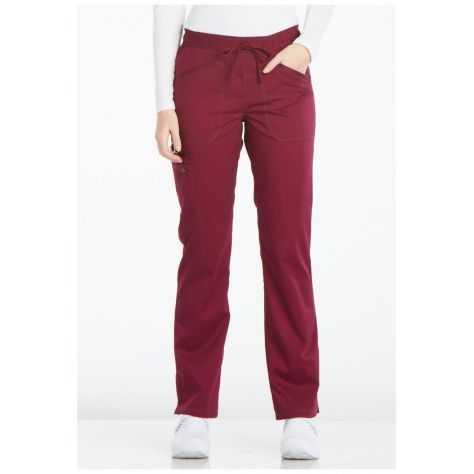 Pantalon Medical Dickies Femme DK106 Bordeaux