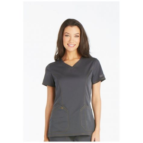 Blouse Médicale Dickies Femme DK803 Gris Anthracite
