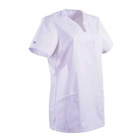 Tunique Medicale Lafont Clemix 2.0 Femme MAITHE Blanc