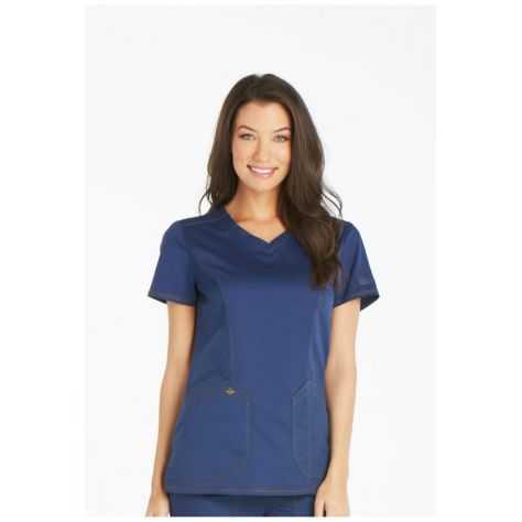 Blouse Medicale Dickies Femme Dk803 Bleu Marine Ebay