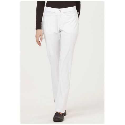 Pantalon Medical Femme Sapphire Roma SA101A Blanc