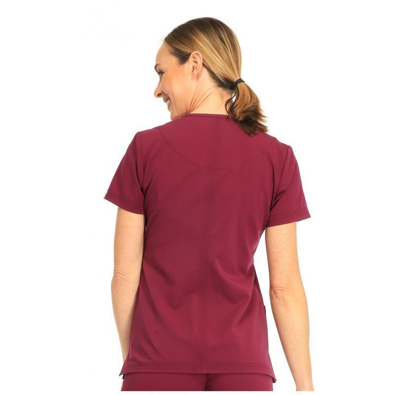 tunique sapphire m dical femme paris blouse medicale couleur bordeaux. Black Bedroom Furniture Sets. Home Design Ideas
