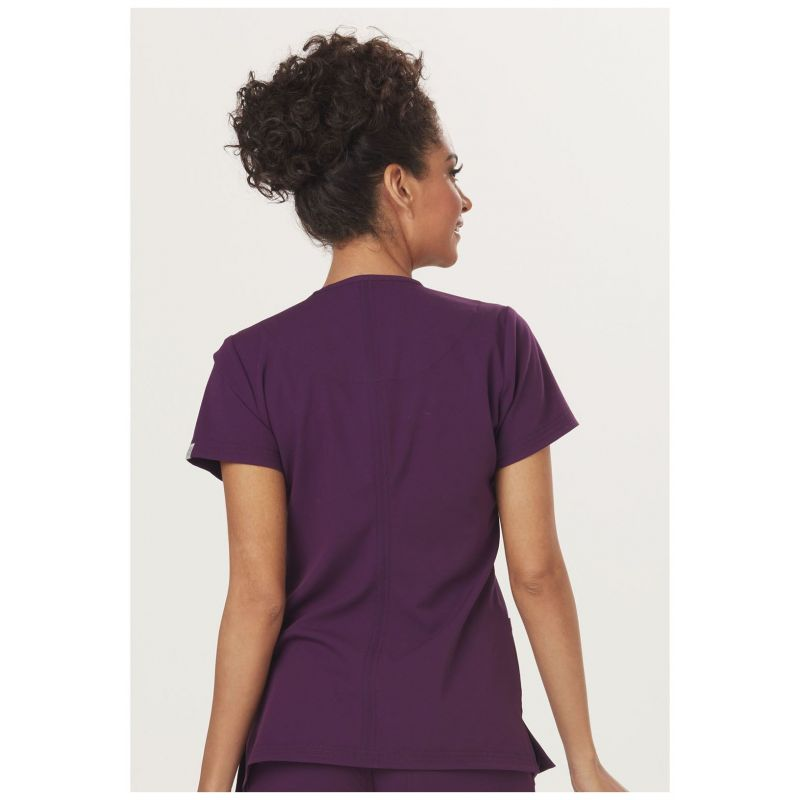 tunique sapphire m dical femme paris blouse medicale couleur aubergine. Black Bedroom Furniture Sets. Home Design Ideas