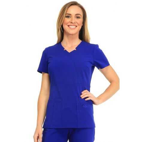 Tunique Medicale Femme Sapphire Madison SA600A Bleu Sapphire