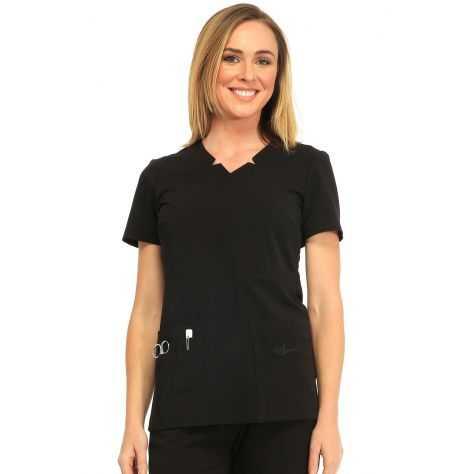 Tunique Medicale Femme Sapphire Madison SA600A Noir